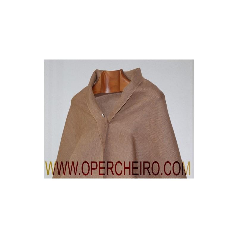 Chal tafetán marrón noz+marrón ref.069+068