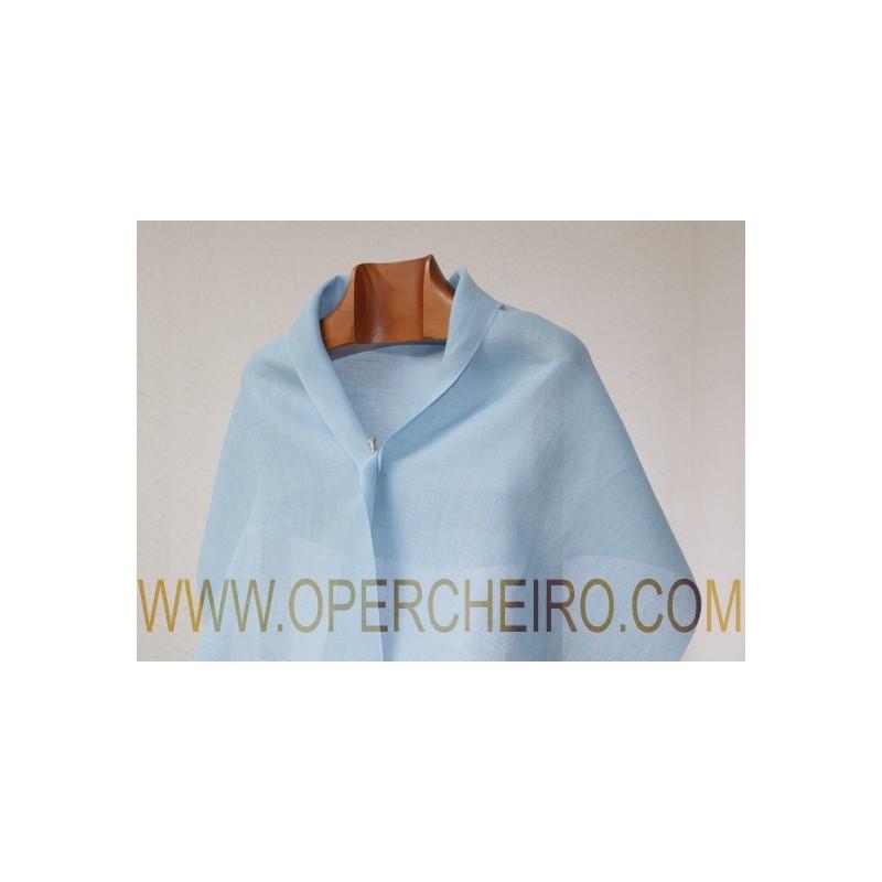 Fular tafetán azul 027/2