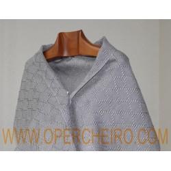 Fular gris perla+gris aceiro 061/2+023/2 diseño 7