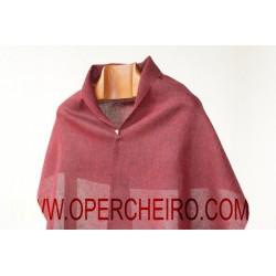 Fular tafetán vermello+negro 065+064/2
