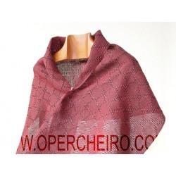 Fular vermello+negro 065+064/2 diseño 7