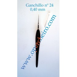 Ganchillo recto 0,40 mm