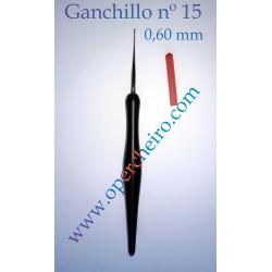Ganchillo recto 0,60 mm
