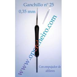 Ganchillo recto 0,35 mm