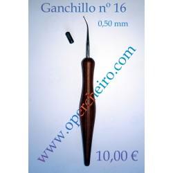 Ganchillo curvo 0,50 mm