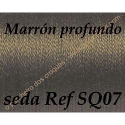 Seda SQ07 MARRÓN PROFUNDO