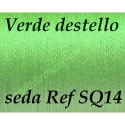 Seda SQ14 VERDE DESTELLO