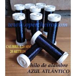 Hilo metálico azul Atlántico
