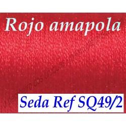 Seda SQ49/2 ROJO AMAPOLA