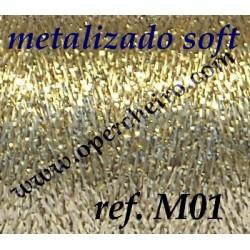 Ref. M01 - Metalizado Dorado