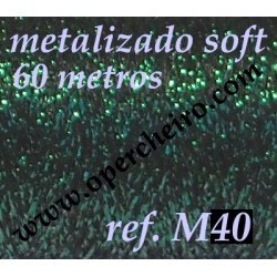 Ref. M40 - Metalizado Verde...