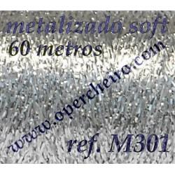 Ref. M301 - Metalizado Plata