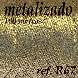 Ref. R67 - Metalizado Dorado