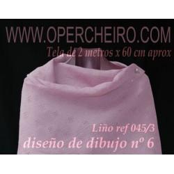 Tela para chal lila 045/3...