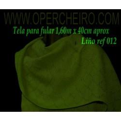 Tela para fular verde 012/3...