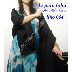 Tela para fular negro 064/2