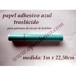 PAPEL TRASLÚCIDO AZUL