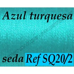 Seda SQ20/2 AZUL TURQUESA