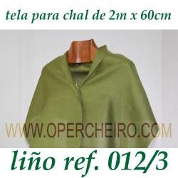 Tela para chal verde 012/3