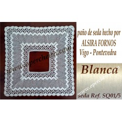 Pañuelo en seda de Alsira...