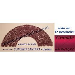 Abanico de seda de Conchita...