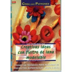 CREATIVAS IDEAS CON FIELTRO...