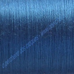 A Kit pendientes de seda azul