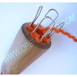 Telar de cordón de cuatro pivotes